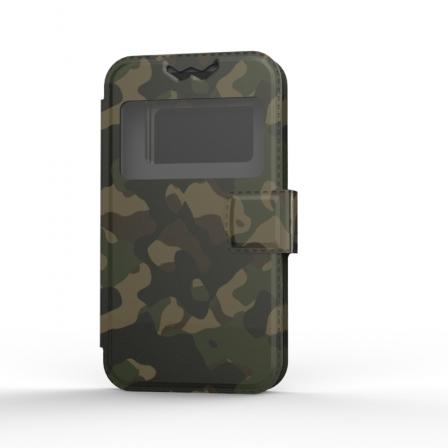 """Чехол универсальный BOOK Uni Soft 5"""" Military"""