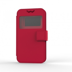 """Чохол універсальний BOOK Uni Soft 5,5"""" Red"""
