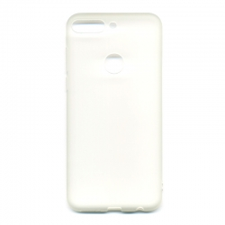 Silicone case Huawei Y7 Prime 2019 White