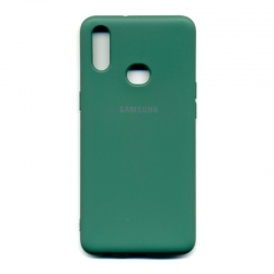 Чохол-накладка Brand Soft Samsung Galaxy A10s Green