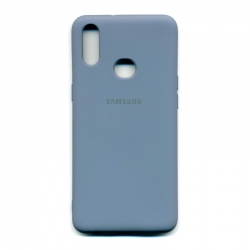 Чехол-накладка Brand Soft Samsung Galaxy A10s Grey