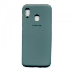 Чохол-накладка Brand Soft Samsung Galaxy A20/A30 Black