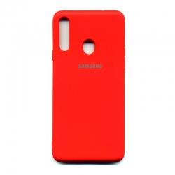 Чохол-накладка Brand Soft Samsung Galaxy A20s Blue