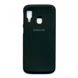 Чохол-накладка Brand Soft Samsung Galaxy A10s Blue