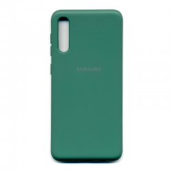 Чохол-накладка Brand Soft Samsung Galaxy A30s Blue
