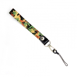 Шнурок на руку для ключей и телефона Брезе Флик Black