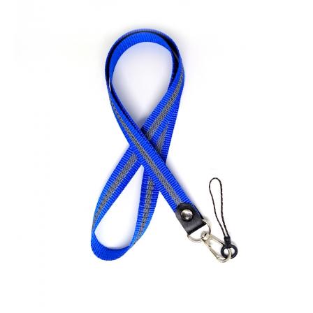 Шнурок на руку для ключей и телефона Брезе Флик Blue