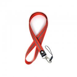 Шнурок на шию для ключів і телефону Брезе Флік Red