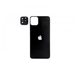 Захисне скло 9H iPhone 11 Pro для iPhone XS Max 2в1 Black