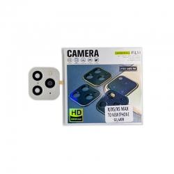 Защитное стекло 9H iPhone 11 Pro для камеры Black
