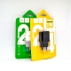 Зарядное устройство HOCO C22-A 2,1A White
