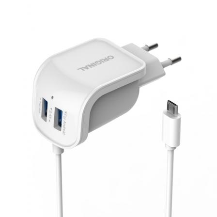 Зарядное устройство Charg Finger 2,1A White