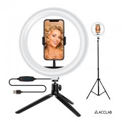Комплект блогера Acclab 2в1 Ring of Light AL-LR101 (1283126502033)