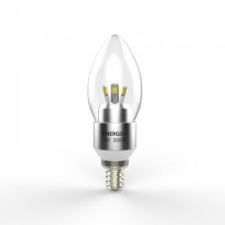Светодиодная лампа Energo+ 3W E14 3000K Clear