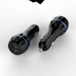 Автомобільний зарядний пристрій Voltex VTC-2420 3,1A Black