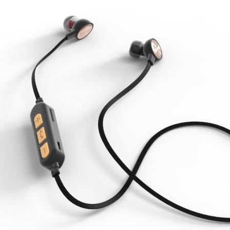 Наушники Bluetooth ST-16 Sport Silver