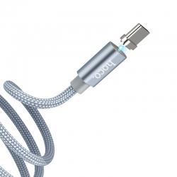 Адаптер HOCO Magnet U40A Type-C Grey