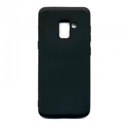 Silicone case Samsung A8 2018 Clear