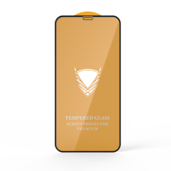 Защитное стекло 9H 20 iPhone 11/XR Black