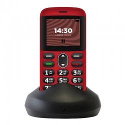 Мобільний телефон (бабушкофон) Ergo R201 Red