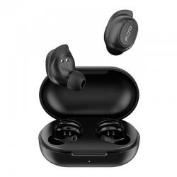 """Навушники TWS (""""повністю бездротові"""") QCY T9 Black"""