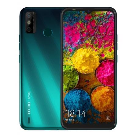 Смартфон Tecno Spark 6 Go KE5j 3/64GB Ice Jadeite (4895180762925)