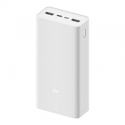 Зовнішній акумулятор (Power Bank) Xiaomi Mi Power bank 3 30000mAh 24Wh white (PB3018ZM) (VXN4307CN)