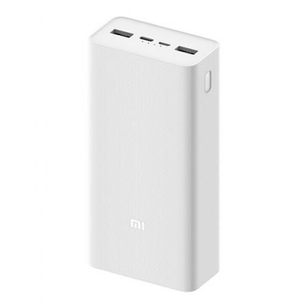 Внешний аккумулятор (Power Bank) Xiaomi Mi Power bank 3 30000mAh 24Wh white (PB3018ZM) (VXN4307CN)