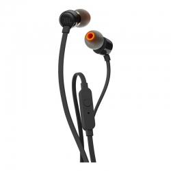 Наушники с микрофоном JBL T110 Black (JBLT110BLK)