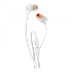 Наушники с микрофоном JBL T110 White