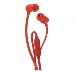 Наушники с микрофоном JBL T110 Red
