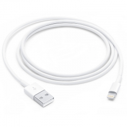 Кабель Lightning Apple Lightning to USB Cable 1m (MD818)