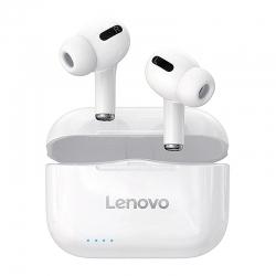 Навушники TWS повністю бездротові Lenovo LP1s White