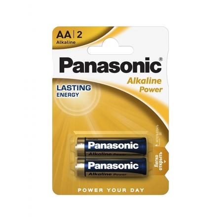 Батарейки Panasonic ALKALINE POWER щелочные AA блистер, 2 шт. LR6REB/2BP