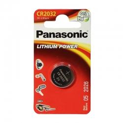 Батарейка Panasonic литиевая CR2032 блистер, 1 шт. CR-2032EL/1B