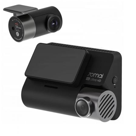 Автомобильный видеорегистратор Xiaomi 70mai Dash Cam A800s-1 + Midrive RC06 Black