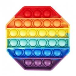 Игрушка антистресс вечная пупырка Pop It Восьмиугольник