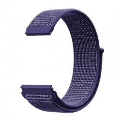 Ремінець нейлоновий для годин 20mm indigo