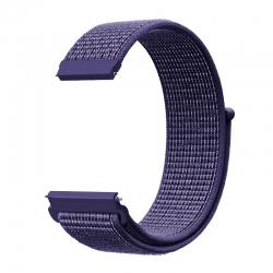 Ремінець нейлоновий для годинника 20mm Indigo