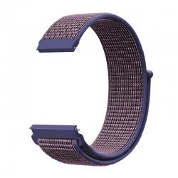 Ремінець нейлоновий для годинника 22mm Midnig blue