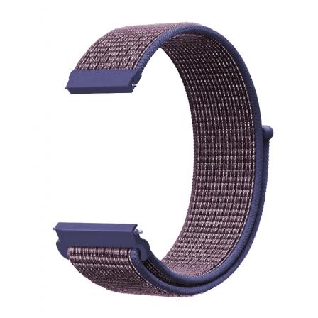 Ремешок нейлоновый для часов 22mm Midnig blue