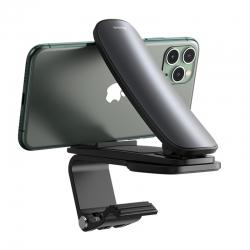 Автомобильный держатель для смартфона Baseus Big Mouth Pro Car Mount (Applicable to centre console) Black