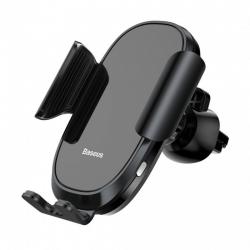 Автомобільний тримач для телефону Baseus Smart Car Mount Cell Phone Holder Black (SUGENT-ZN01)