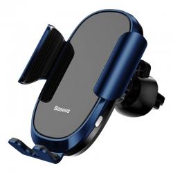 Автомобильный держатель для смартфона Baseus Smart Car Mount Cell Phone Holder Blue (SUGENT-ZN03)
