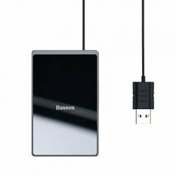 Бездротовий зарядний пристрій Baseus Card Ultra-thin Black (WX01B-01)