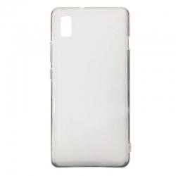 Чехол-накладка Silicone case ZTE blade L210 Clear