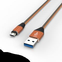 Адаптер Voltex 3A V-50 Micro USB Gold