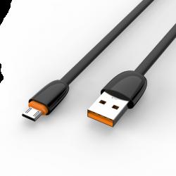 Адаптер Voltex 2A Flat King V17 TPE Micro USB Black