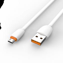 Адаптер Voltex 2A Flat King V17 TPE Micro USB White