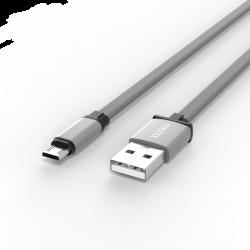 Адаптер Voltex Flat Easy V27 TXT Micro USB Grey